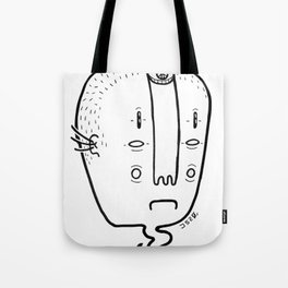old head Tote Bag