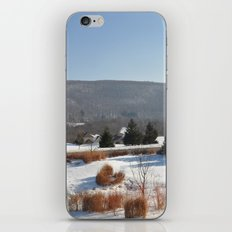 Winter Snow Scene Landscape Photo iPhone & iPod Skin