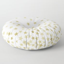STARS GOLD Floor Pillow