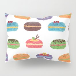 Sweet Macarons Pillow Sham