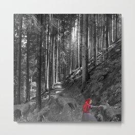 Chaperon rouge Metal Print