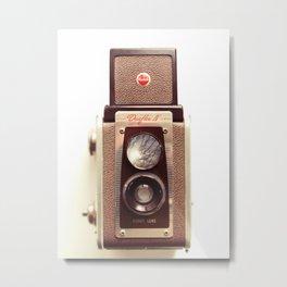 Duaflex Vintage camera Metal Print