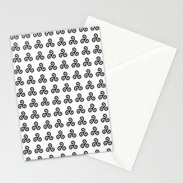 Triskele 1 -triskelion,triquètre,triscèle,spiral,celtic,Trisquelión,rotational Stationery Cards