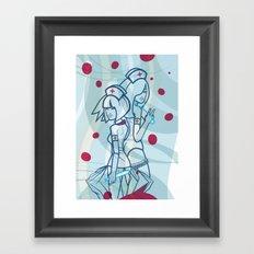 Enfermeras Framed Art Print