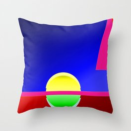 Heaven and hell ... Throw Pillow