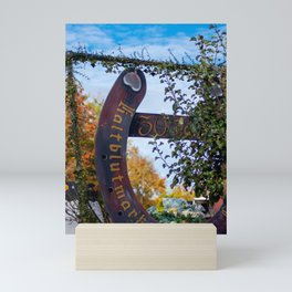 30. Jahre Kaltblutmarkt Laupheim Mini Art Print