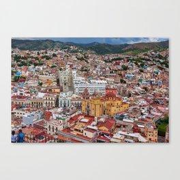 Downtown Guanajuato, Mexico Canvas Print