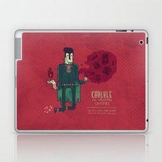 Carlyle, The Christmas Vampire Laptop & iPad Skin