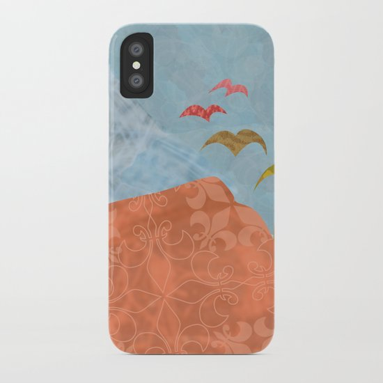 Birds Fly Away iPhone Case
