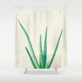 Aloe Vera Shower Curtain