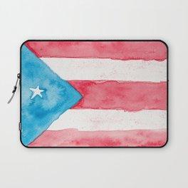 Puerto Rico Watercolour Laptop Sleeve