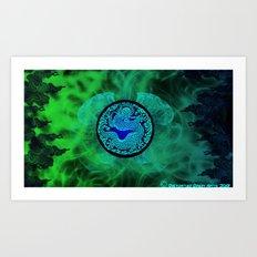 Dragons Might Art Print