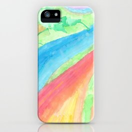 colors of the sea iPhone Case