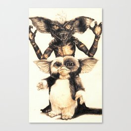 Gizmo by Aaron Bir Canvas Print