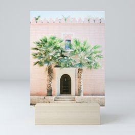 "Travel photography print ""Magical Marrakech"" photo art made in Morocco. Pastel colored. Mini Art Print"