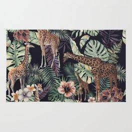 Giraffe Pattern Rug