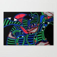 Print #15 Canvas Print