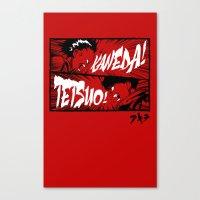 akira Canvas Prints featuring Akira! by Demonigote