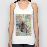 california Tank Tops featuring California by Ursula Rodgers