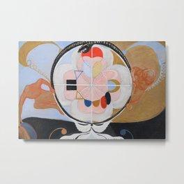 """Hilma af Klint """"Evolution, No. 13, Group VI"""" Metal Print"""