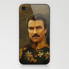 Tom Selleck - replaceface iPhone & iPod Skin