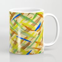 the strokes Mugs featuring brush strokes by littlesilversparks