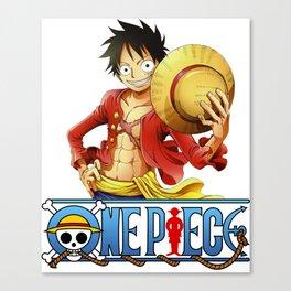 One Piece - Luffy Canvas Print
