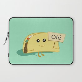 Happy Taco, Olé Laptop Sleeve