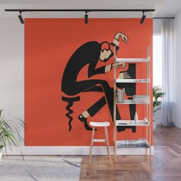 The Pianist Wall Mural