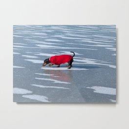 Walking on Water Metal Print