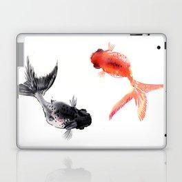 Two KOI , Feng Shui, Fish art, Laptop & iPad Skin