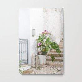 Ferragudo Flowers Metal Print