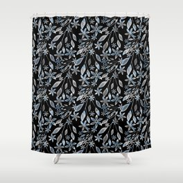 Abstract floral pattern. Shower Curtain