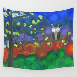 Art by MiMi Stirn - Owl Singles #339 Wall Tapestry