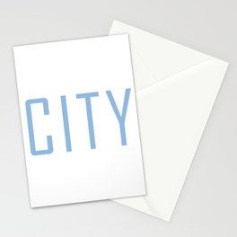 City Powder Blue Stationery Cards