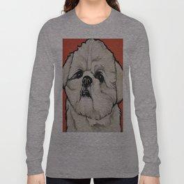Waffles the Shih Tzu Long Sleeve T-shirt