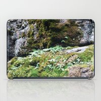 moss iPad Cases featuring Moss by Infra_milk