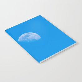 moon in the blue sky Notebook