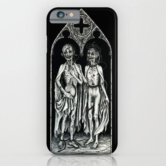 Dead Lovers (after Matthias Grünewald) iPhone & iPod Case