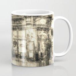The White Lion Covent Garden London Vintage Coffee Mug