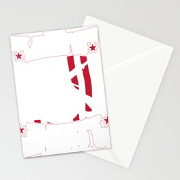 Amerian Pride Merica Patriotic The First Amendment Defines Us The 2nd Amendment Defends Us Stationery Cards