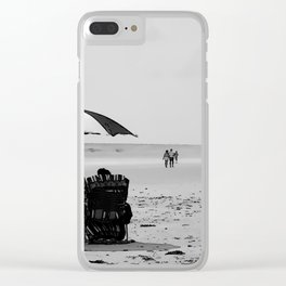 Basking in the Good Life Clear iPhone Case