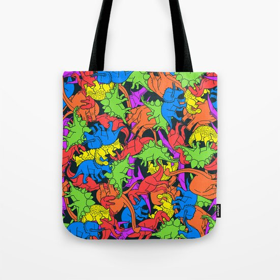 Tetrisaurus Tote Bag