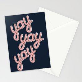 YAY YAY YAY! Stationery Cards
