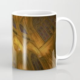 Cathedral Golden Light Coffee Mug
