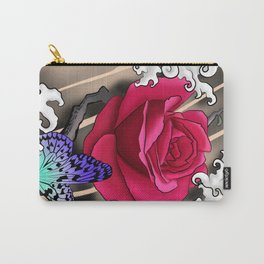 Rose Tattoo Carry-All Pouch