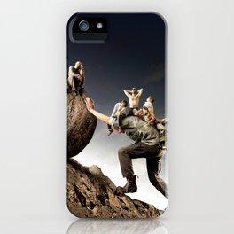 civilization of lazy iPhone Case