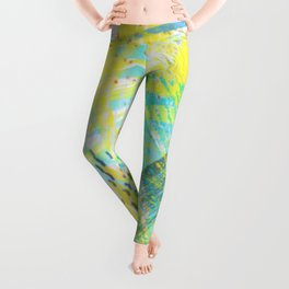 Abstract 181 Leggings