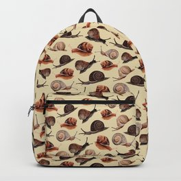 A Slew Of Snails Backpack