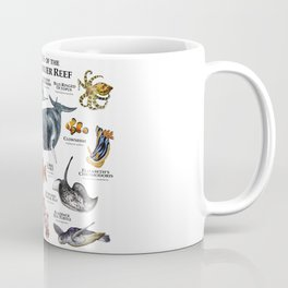 Animals of the Great Barrier Reef Coffee Mug